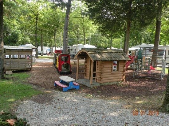 Manchester KOA Campground: Playground