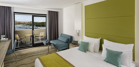 Park Plaza Histria Pula: Premium Room Marina View