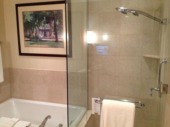 Conrad Indianapolis : King Suite Master Bathroom
