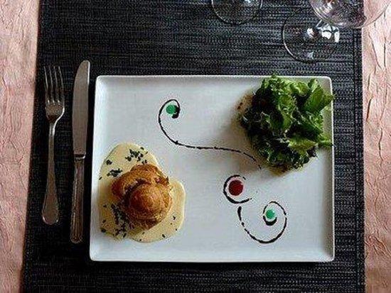 Hotel-Restaurant Le Spuller: Gastronomy