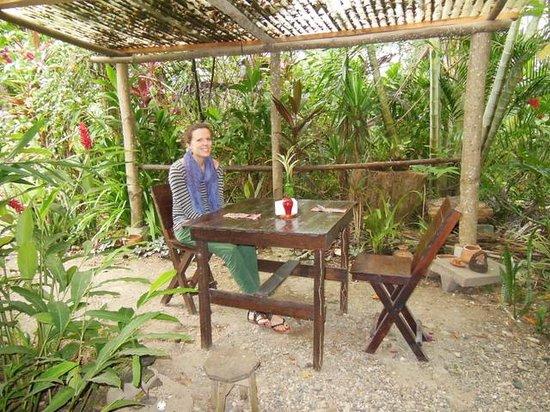 Posada De Quirigua: Taking breakfast Posada Quirigua