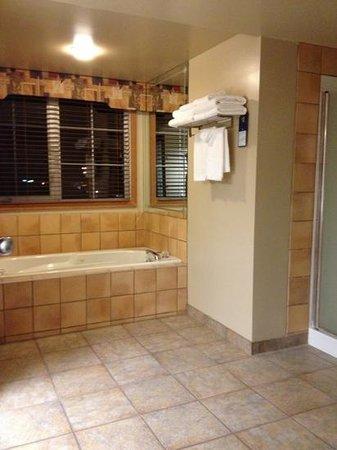 BEST WESTERN Pocaterra Inn: mooie ruime badkamer