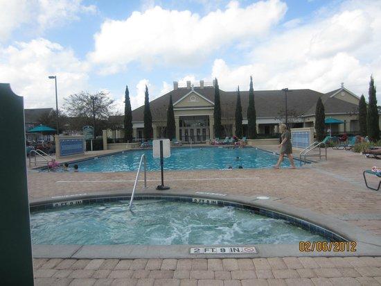 Venetian Bay Resort: Main pool and jacuzzi