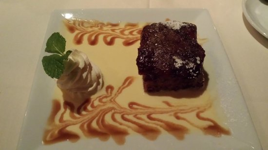 Old Mill: Sticky Toffee Pudding