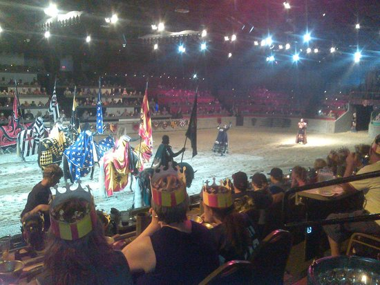 Medieval Times: Parade of colors