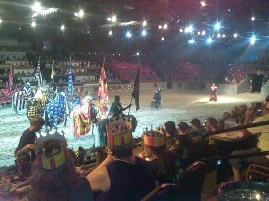 Medieval Times: More knightly pagentry