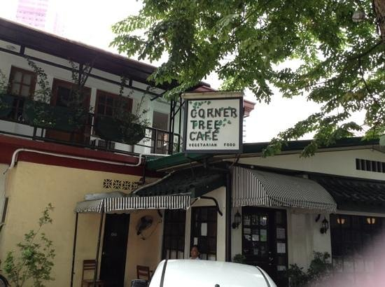 Corner Tree Cafe: front entrance