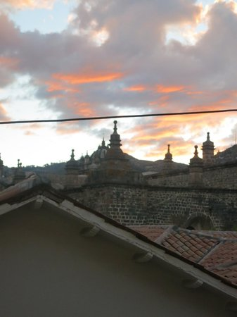 Hostal El Triunfo: View from Third Floor