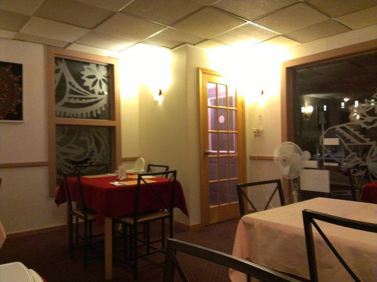 Sakuntala Indian Restaurant: View of restaurant