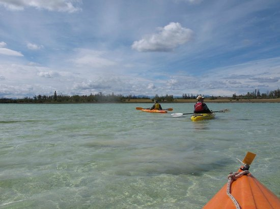 Cariboo, Canada : Kayaking on Green Lake