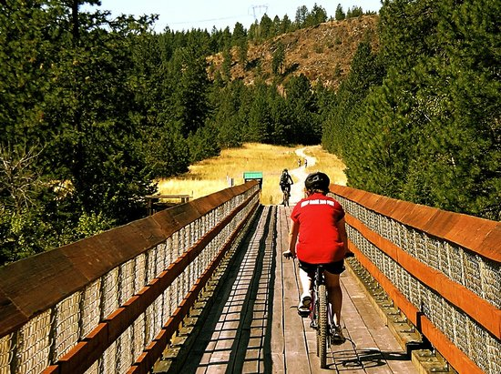 WildWays Adventure Sports & Tours: Kettle Valley Trestle