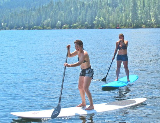 WildWays Adventure Sports & Tours: Paddleboarding w/ WildWays