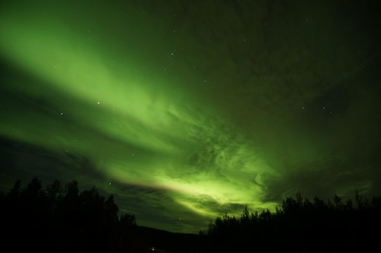 Pike's Waterfront Lodge: Northern Lights seen 20 minutes from hotel.
