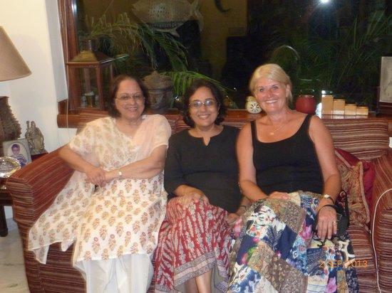 Saubhag Bed and Breakfast: Mummy, Meera and I