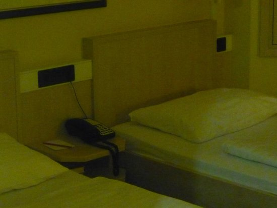 InterCityHotel Erfurt: Das geschmacklose Zimmer