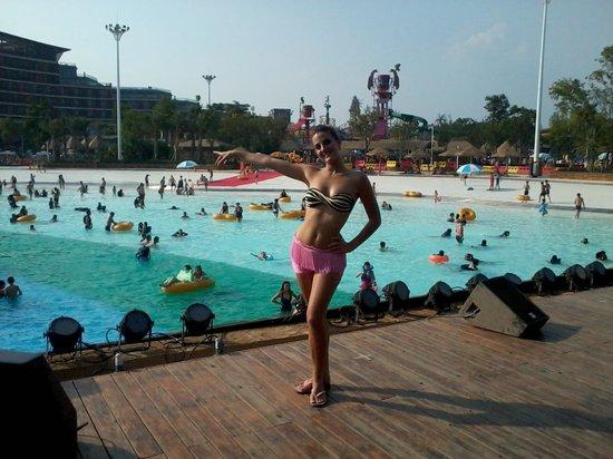 Wuhan, Kina: maya, happy valley aqua park