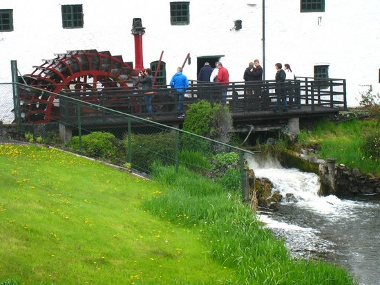 Old Kilbeggan Distillery: View from our Bus when we first arrived