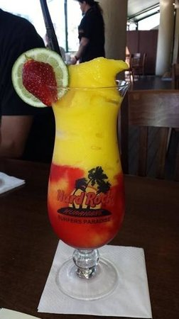 Hard Rock Cafe: the best non alcoholic cocktail