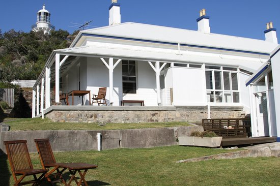 Sugarloaf Point Lighthouse Holiday Accommodation: Sugarloaf Point Lighthouse North Cottage