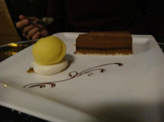 L'Edzen : Dessert au chocolat