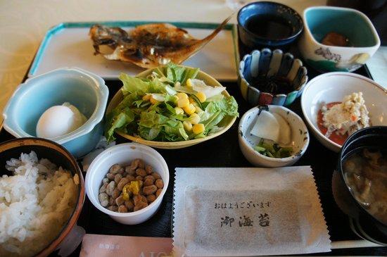 Hotel Yumeiroha: 1日目の朝ごはん