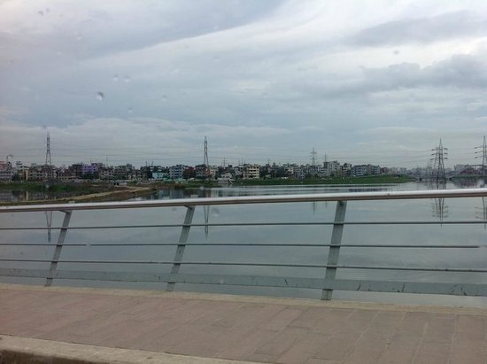 Hatir Jheel : From a Bridge of Hateer Jheel