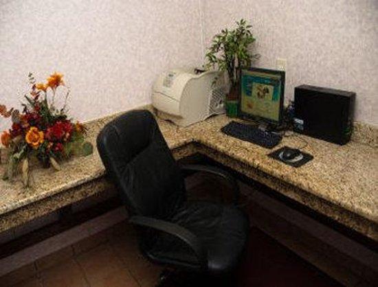 Quality Inn & Suites Harvey: Business Center