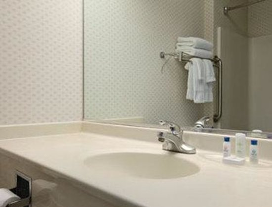 Quality Inn & Suites Harvey: Bathroom