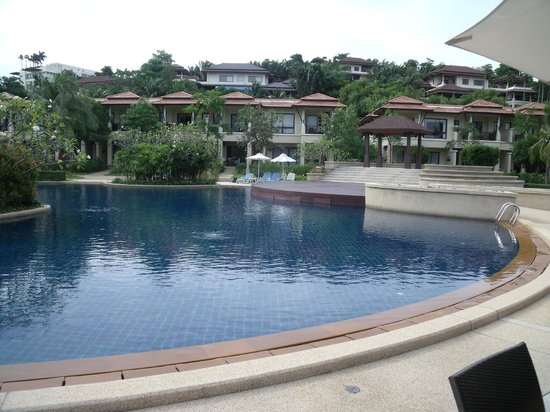 Angsana Villas Resort Phuket : Pool - peaceful and quiet