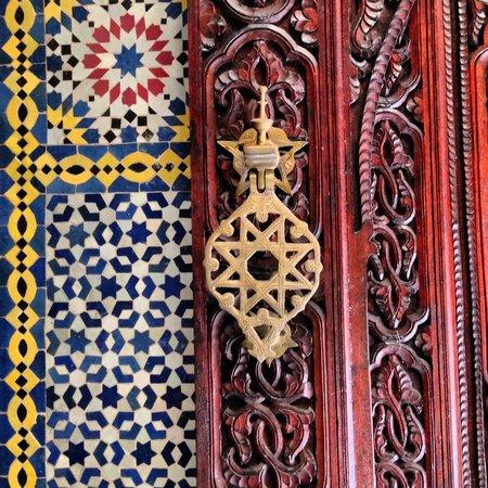 Riad Al Bartal: Door