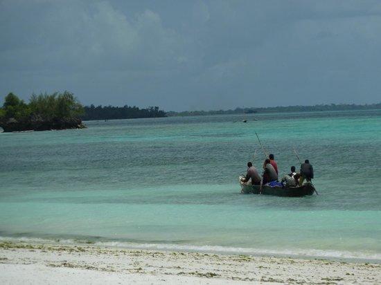 The Manta Resort: local fisherman