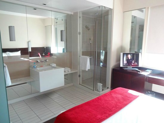 SunSquare Montecasino: the shower door did not close well but it wasn't a problem for me