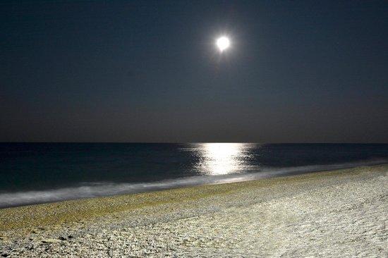 Dal Pescatore: la luna vista da tavola