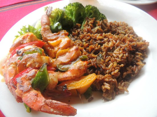Anthony's Key Resort: Dinner - Always Fresh - Shrimp here