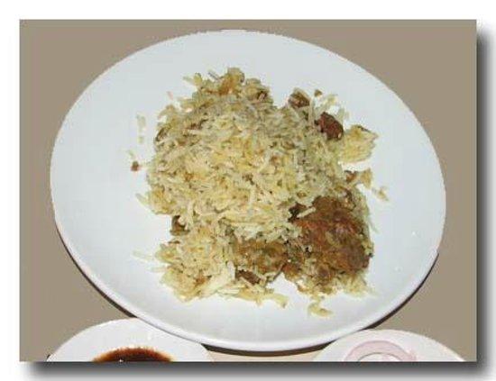 Kayees Rahmathullah Hotel Restaurant: mutton biriyani dum