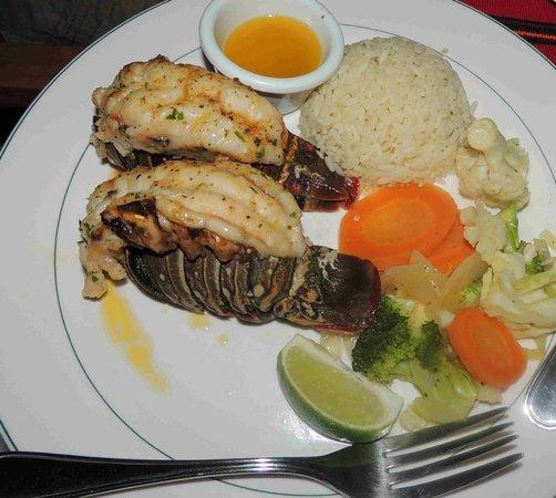 Anthony's Key Resort: Last night Dinner