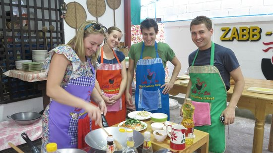Zabb E Lee Thai cooking school