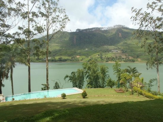Ceylon Tea Trails : The veranda view