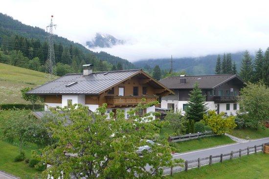 Embacherhof: uitzicht vanuit de kamer
