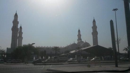 Mosquée de Quba : outside view