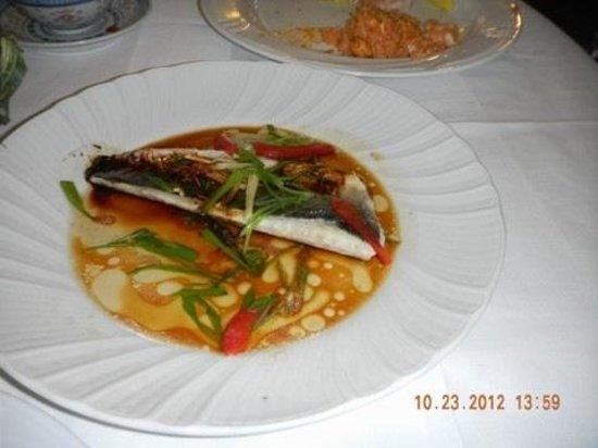 La Felicita: Sea bass dish