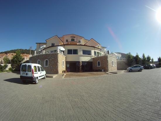 Auberge Tourtite : entrada al albergue