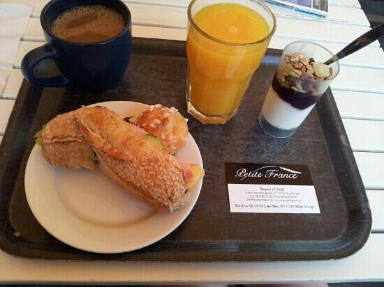 Petite France : Frukost Paket