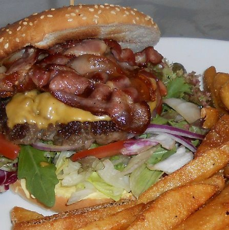 Vanse, Norge: The Brooklyn Square Burger
