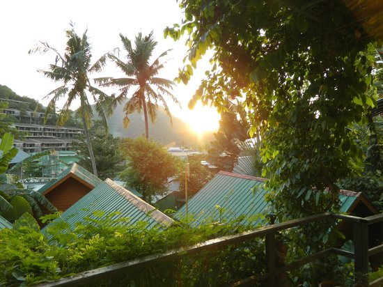 Phi Phi Uphill Cottage: View from our door