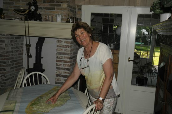 Strooppot: Francita Bruin, the owner