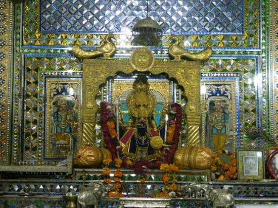 Chittaurgarh, India: inside of temple
