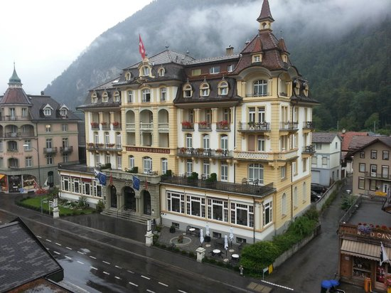 Hotel Interlaken : View from Economy Double