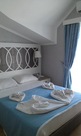 Ocean Blue High Class Hotel: bedroom