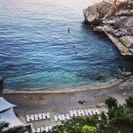 Hotel Bellevue Dubrovnik : Stunning room View - Can hear the waves as your sleep